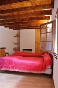 Gîte : chambre deuxième étage